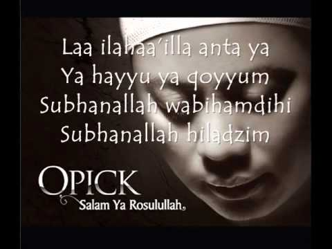 Opick   Astaghfirullah lyrics wmv