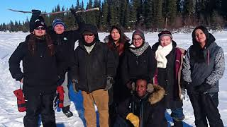 Central Peel SS travels to First Nations school to experience their first cultural exchange