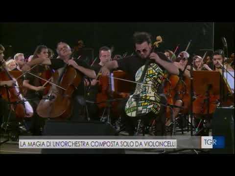100cellos 9 Settembre Teatro di Verdura - TG Rai Sicilia