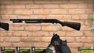 Left 4 Dead 2 Weapon Mods - Benelli M3 Super 90 & Remington 870AE