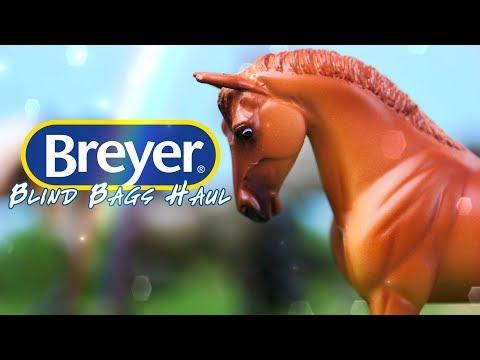 Unbox Daily: BREYER Blind Bag MEGA HAUL | Mini Whinnies Surprise & Horse Crazy Surprise