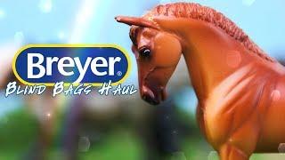 Unbox Daily BREYER Blind Bag MEGA HAUL  Mini Whinnies Surprise  Horse Crazy Surprise