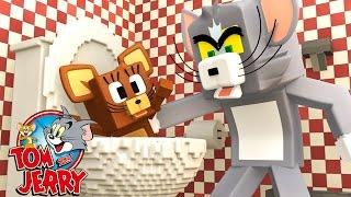 Minecraft: RATO NO BANHEIRO! #03 ( TOM E JERRY )