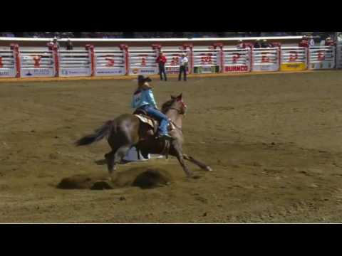Calgary Stampede 2016 Day 1 Barrel Racing