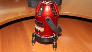 Дешевий але точний лазерний рівень Longyun на 5 ліній з сайту Gearbest.com