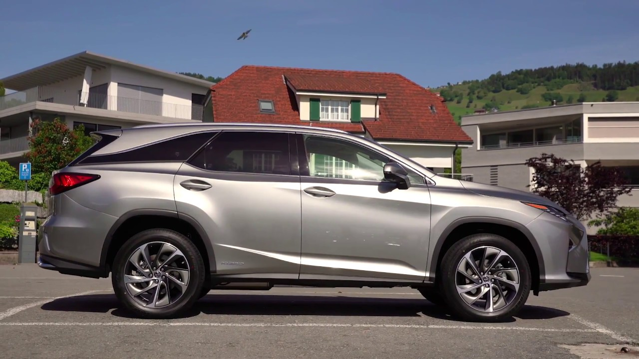 Lexus Rx 450h L Design Preview