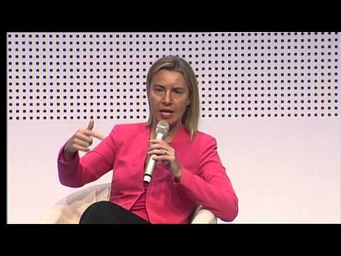 Europe Day Citizens Dialogue with Federica Mogherini and Martin Schulz