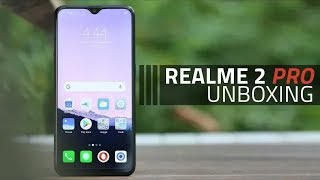 Realme 2 pro unboxing-first look