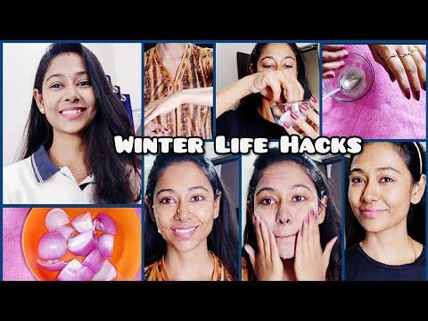 #Vlog    Winter Life Hacks/ Beauty Tips Every Girl Must Know    Asha Sudarsan Telugu Vlogs