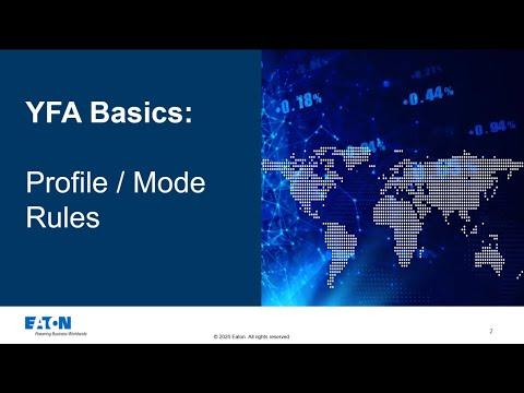 YFA Basics: Profile / Mode rules