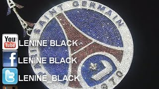 Lénine Black PSG (Paris Saint Germain) Chain