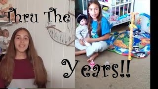 A Look Back Thru The Years! From Child To Young Lady!  MariahsReborns1