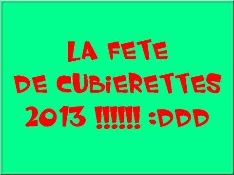 CUBIERETTES   2013