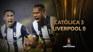 U. Católica (ECU) vs. Liverpool [3-0] | RESUMEN | Fase 1 | CONMEBOL Libertadores 2021