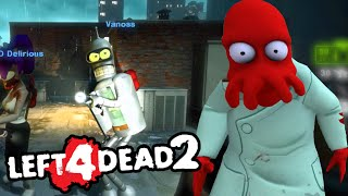 Zoidberg Zombies! - Modded Left 4 Dead 2 Funny Moments