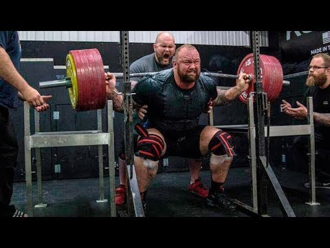 """Thor """"The Mountain"""" Bjornsson 2017 - Best Lifts Compilation"""