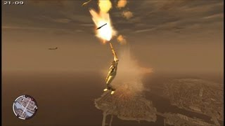 Free Falls From Space GTA IV - HD