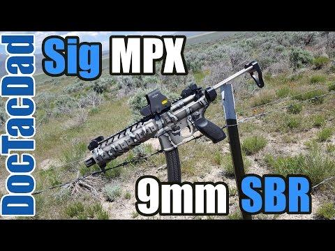 SICK!!! Sig MPX 9mm SBR
