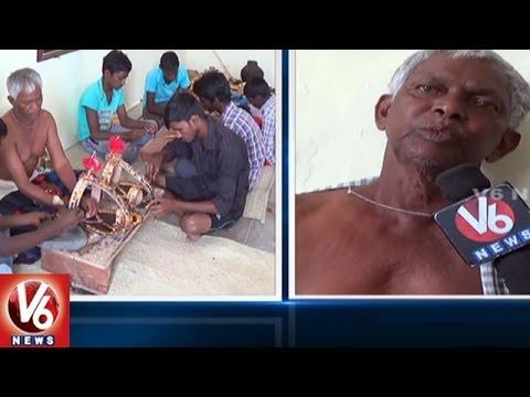 Kurumurthy Swamy Jatara | Uddala Utsavam Grandly Commenced | Mahabubnagar | V6 News