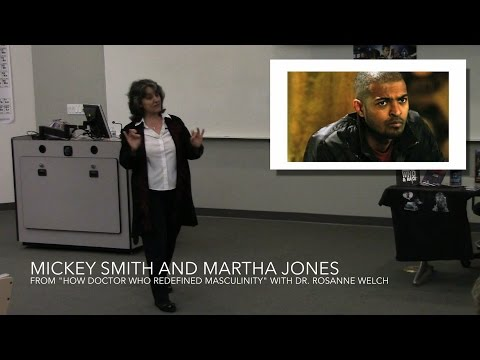 Mickey Smith and Martha Jones from How Doctor Who Redefined Masculinity