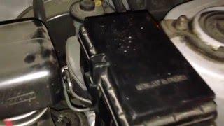 Если не выключается свет в машине (RAV4 98)(Вода, которая просачивалась через герметик на лобовом попадала на фишки с проводкой в блоке на левой стойке..., 2015-12-06T15:26:02.000Z)