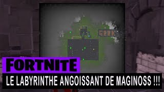 FORTNITE - SAUVER THE WORLD - MAGINOSS !!! ANGOISSANT LABYRINTHE