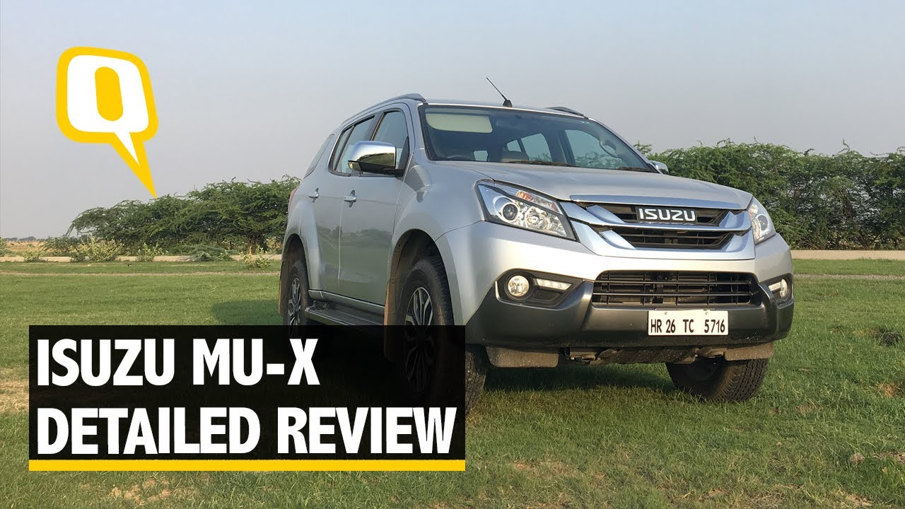 Isuzu Mu X Off Road And On Road Review The Quint Youtube