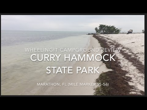 curry hammock state park campground review curry hammock state park campground review   youtube  rh   youtube