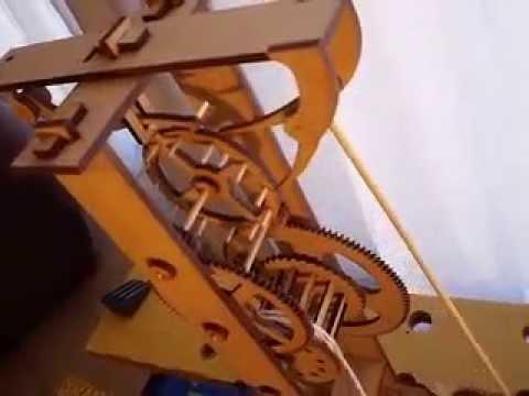 Reloj de galileo en madera parte 1 youtube - Como hacer un reloj de pared ...