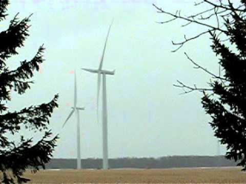 Wind turbine noise Chatham-Kent, Ontario, Enbridge Talbot wind farm Ridgetown, Ontario