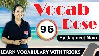 Vocab Dose - The Hindu : Learn Vocabulary with Tricks @ 08AM || 12thMAY 2018