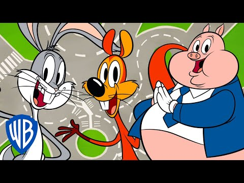 Looney Tunes | Best Travelling Moments 🌎 | WB Kids