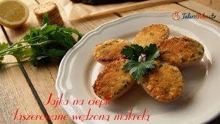 Jajka na ciepło faszerowane wędzoną makrelą - TalerzPokus.tv