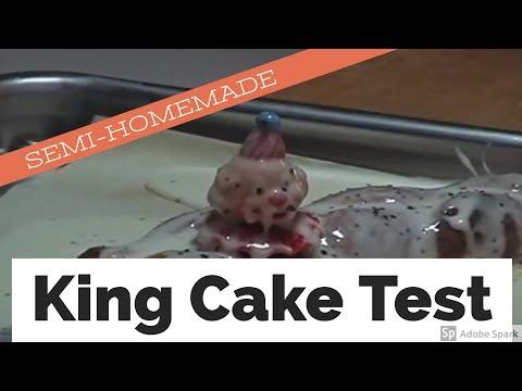 Sandra Lee Semi-Homemade King Cake Test