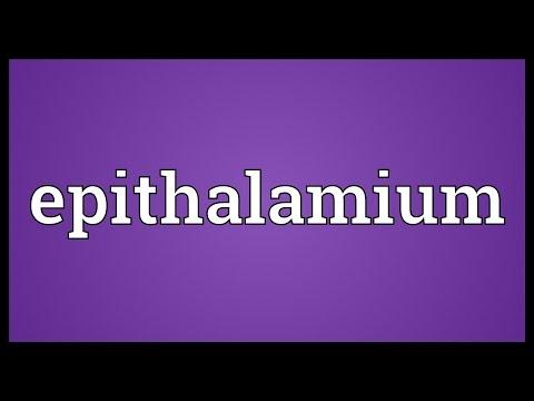 Header of epithalamium