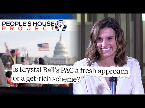 """""""Ask The Candidates"""" — Krystal Ball Fires Back At Reporter, Defends People's House Project"""