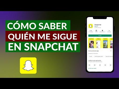 Cómo Puedo Saber Quien me Sigue en Snapchat ¿Dónde lo veo?