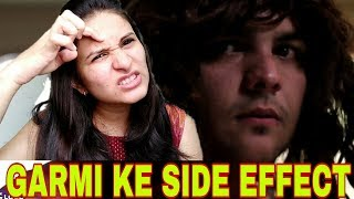 ASHISH CHANCHLANI I GARMI KE SIDE EFFECT I REACTION VIDEO I MANN JAIN HD