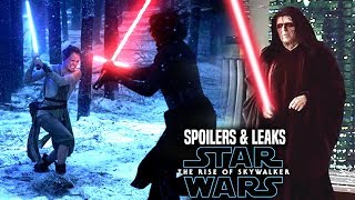 INSANE The Rise Of Skywalker Leaks! WARNING (Star Wars Episode 9 Spoilers)