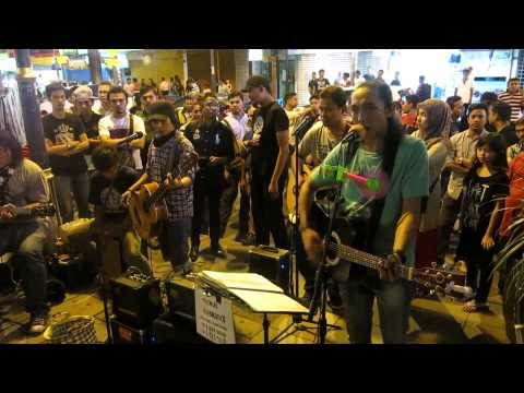 GENJI BUSKERS - GALAU (COVER) FIVE MINUTE BEST SONG