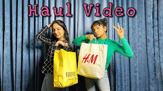 My Bangalore Shopping Haul Video | Ishaani Krishna | Hansika Krishna.
