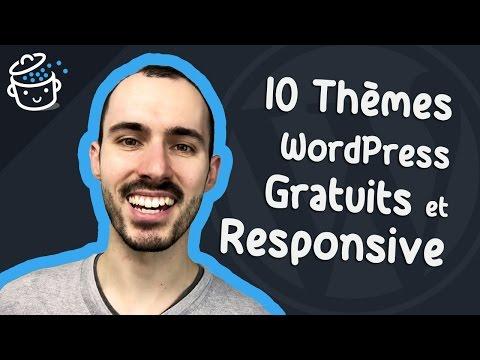 10 Thèmes WordPress GRATUITS et RESPONSIVE pour 2017 😎