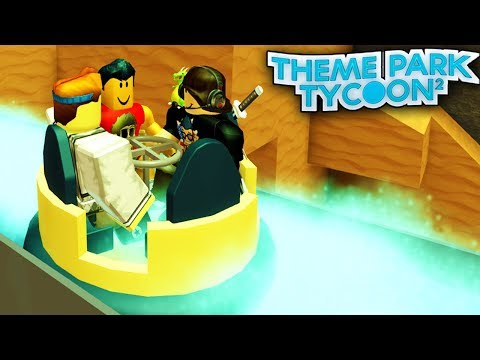 RIVER RAPIDS in Theme Park Tycoon! | Roblox