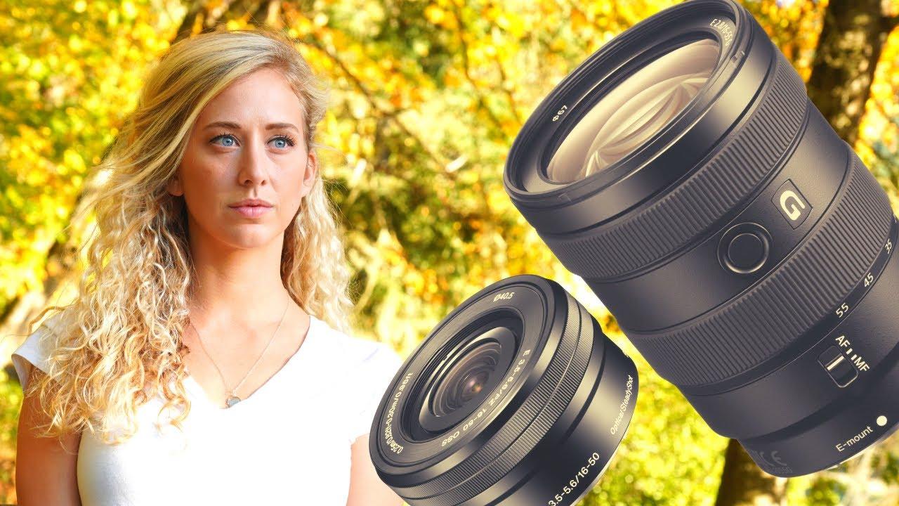 Sony 16-55 F2.8 G Lens vs Sony 16-50 Kit Lens