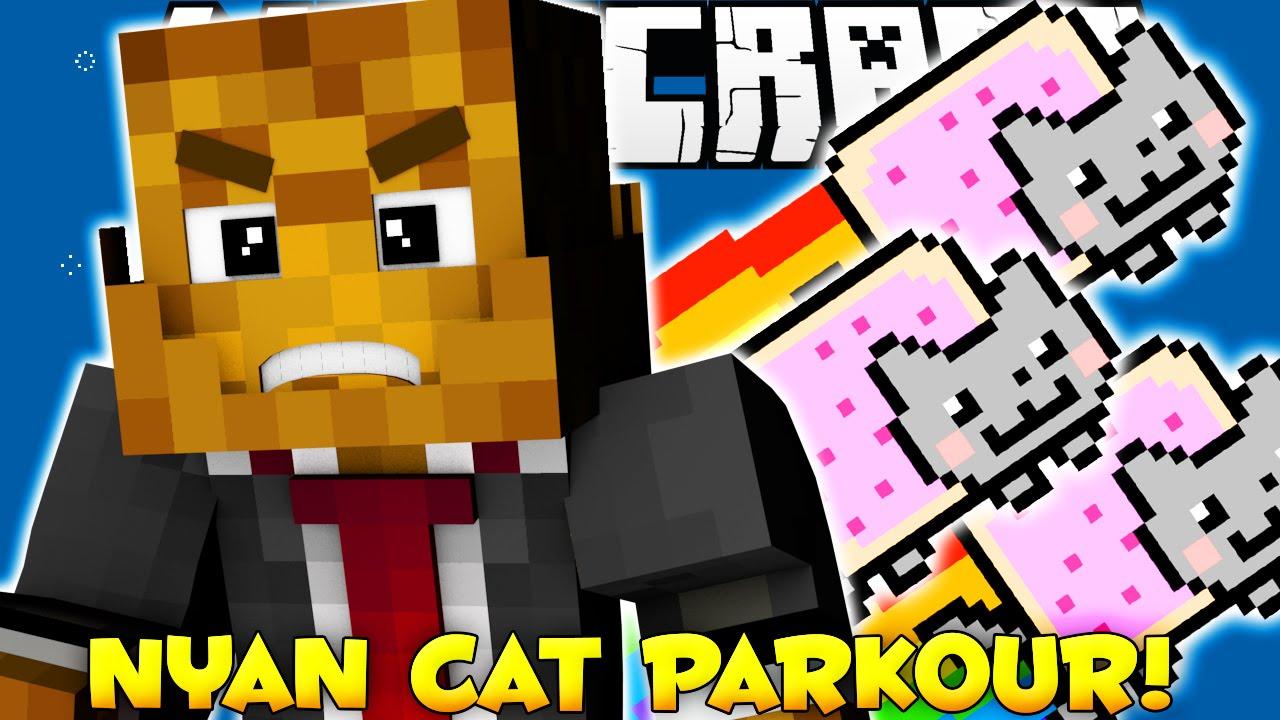 Кот скачать игру паркур