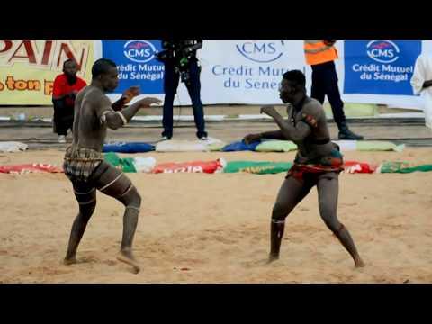 La Lutte - Senegalese Wrestling in Dakar - Championship!