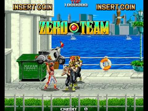 Zero Team Arcade Attract - YouTube