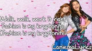 Bella Thorne & Zendaya - Fashion Is My Kryptonite (Lyrics Video) HD