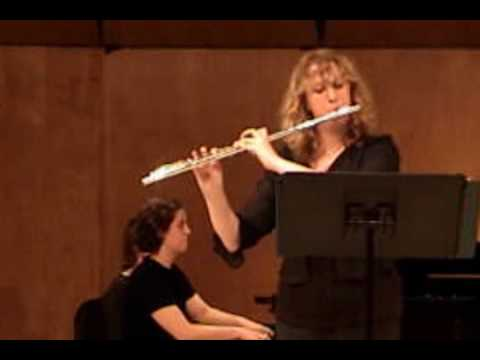 Hindemith Flute Sonata (Mov. 4) Featuring Emily Moore