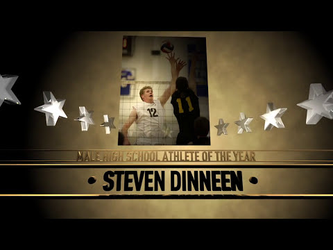Steven Dinneen - 2015 San Jose Sports Hall of Fame High School Athlete of the Year